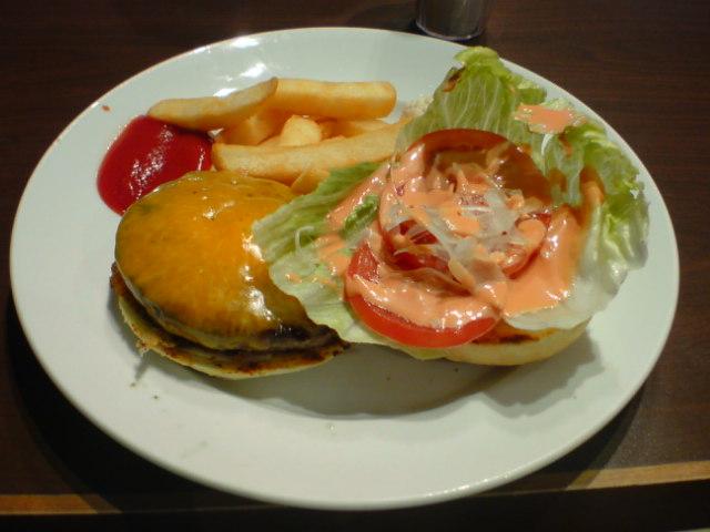 アメリカンハンバーガー
