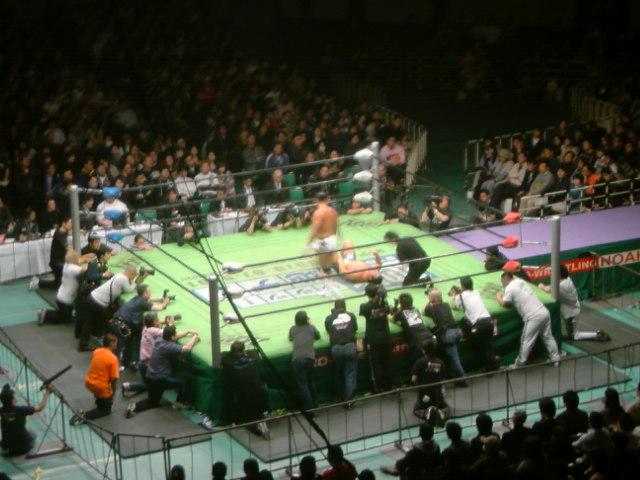 3月1日プロレスリングNoah日本武道館大会